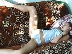 Teen gets fucked in her sleep