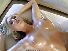 Order about horny blonde licks broad in the beam cock
