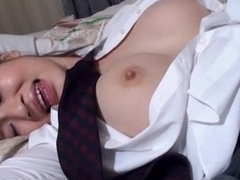 Have fun staring at glamorous Oriental unshaded getting banged sexy
