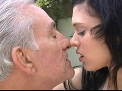 The poor older feels close to the end of his day and this makes him sad. But with cutie brunette hair hair Miho adjacent to this cannot go on. That Chick has skills to cheer him apart from giving her shaggy cunt to be licked and drilled hard