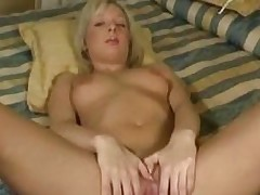 College student shows her unused cunt for the camera