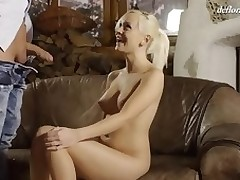 Cute cutie feels a dick unfathomable in her vagina for the first time