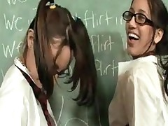 Hawt, adorable and completely irresistible school angels, Danni and Amia are in some real trouble after flirting in class. When the Large mean teacher comes over and unqualifiedly punishes 'em, they fall to his lenience and start engulfing his ruler and playing with his apples! Those sluts are so hawt and playful u'll definitely have a blast watching 'em get into trouble!