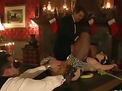 Busted hawt honey sex masseuse bound and fucked Asa Akira.